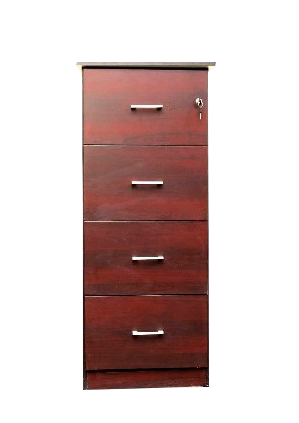 4 drawer filing cabinet dark