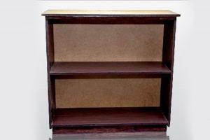 2 tier open bookshelf