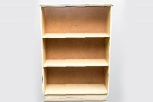 3 tier open bookshelf
