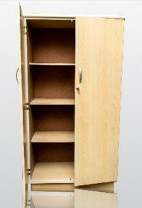 4 tier lock bookcase