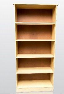 5 tier open book case