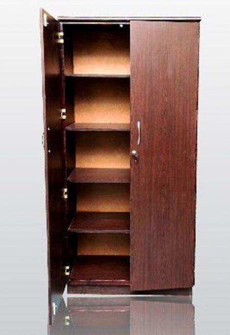 5 tier lock book shelf