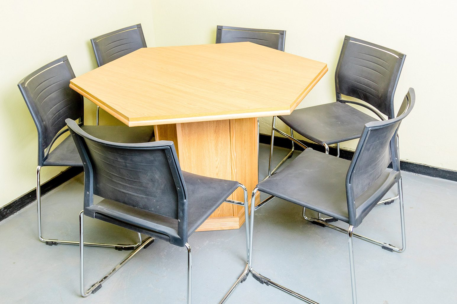 Hexagonal-Conference-Table