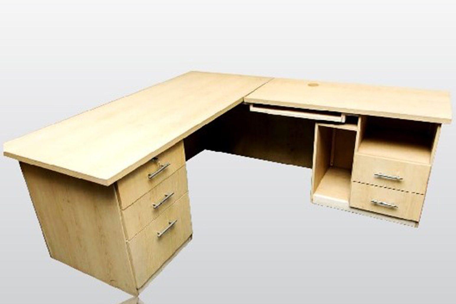 L--Shape-Desk